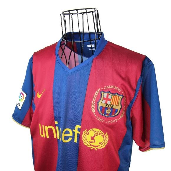Nike Shirts 2007 Fc Barcelona Messi Unicef Jersey Poshmark